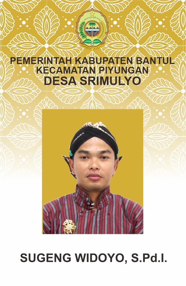 Sugeng Widoyo, S.Pd.I.
